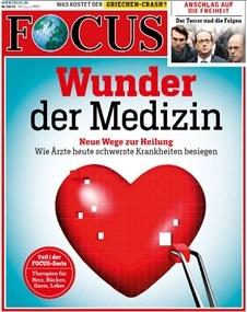 Werbung im 'Focus'