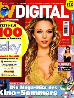 Werbung in TV Digital