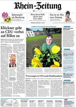 Werbung in Rhein-Zeitung