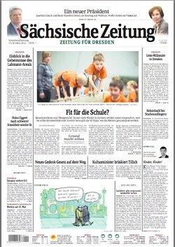 Werbung in Sächsische Zeitung