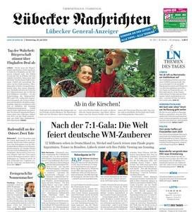 Werbung in Lübecker Nachrichten