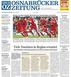 Werbung in d. Neuen Osnabrücker Zeitung