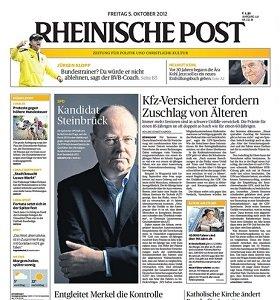 Werbung in der Rheinischen Post