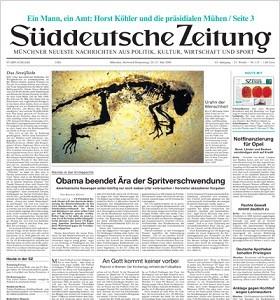 Süddeutsche Zeitung - FAQs Anzeigensuche