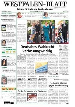 Werbung in Westfalen-Blatt