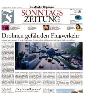 Werbung in Frankfurter Allgemeine Sonntagszeitung