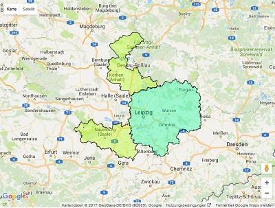 Radiowerbung Sendegebiet Energy Leipzig