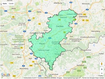 Radiowerbung Sendegebiet Energy Zwickau