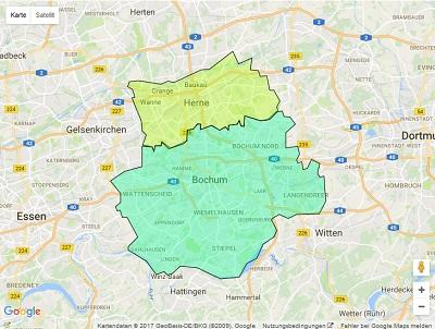 Radiowerbung Sendegebiet Radio Bochum