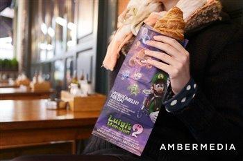 amber BAG - Werbung auf Bäckereitüten
