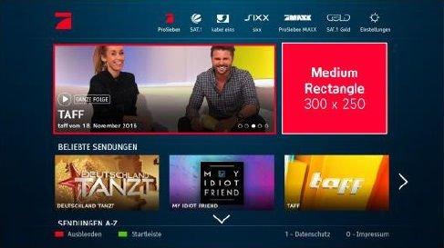 Addressable TV - Vorlage SwitchIn XXL Pure
