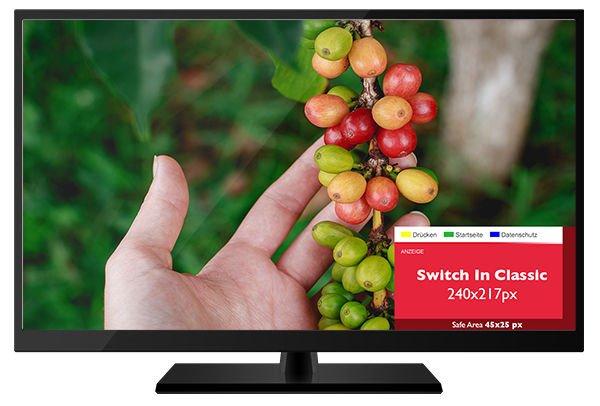 Addressable TV - Vorlage SwitchIn Classic