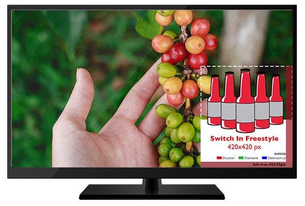 Addressable TV - Vorlage SwitchIn Freestyle