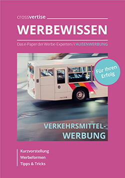 ePaper Verkehrsmittelwerbung
