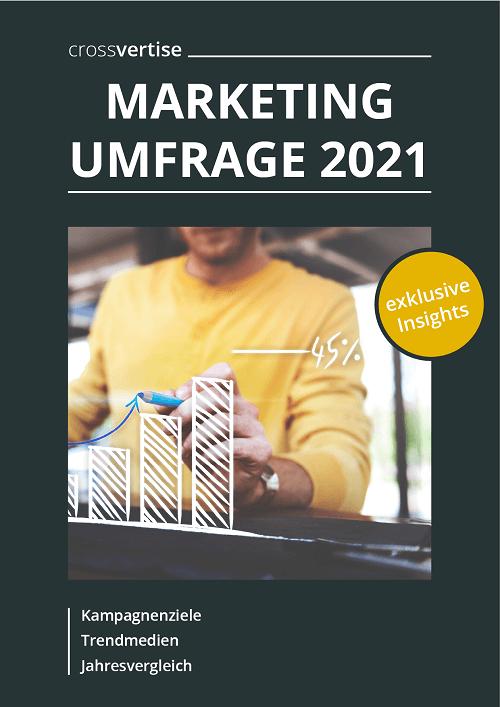 Umfrage Marketing-Trends 2021