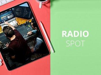Radio Spotproduktion landesweit