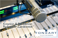Radio Spotproduktion landesweit
