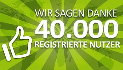 Das Bild für crossvertise feiert 40.000 registrierte Nutzer!
