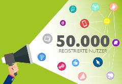 Das Bild für crossvertise feiert 50.000 registrierte Nutzer