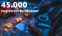 Das Bild für Geschafft: 45.000 registrierte Nutzer!