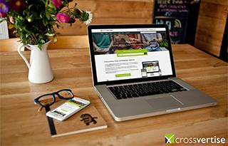 Das Bild für Neu bei crossvertise: Der Online Mediaplaner!