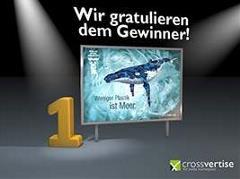Das Bild für Sieg der Walhelfer: Internationale Wal- und Delfinschutzorganisation WDC gewinnt Plakatkampagne