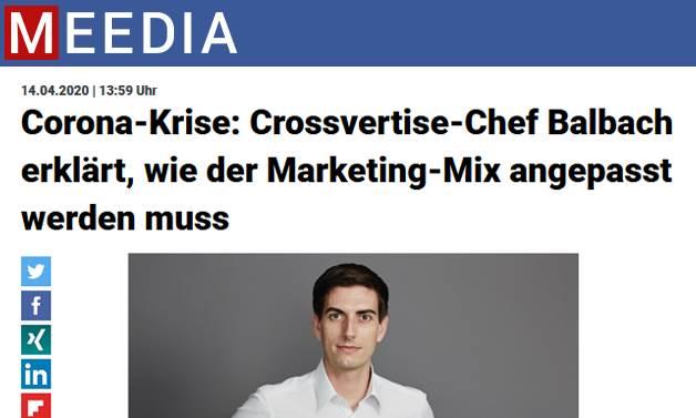 Das Bild für MEEDIA: wie der Marketing-Mix angepasst werden muss