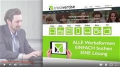 """Das Bild für """" Werbung einfach buchen!"""" - crossvertise sorgt mit neuer TV-Kampagne für Aufmerksamkeit"""