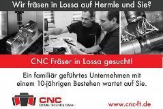CNC Fräser in Lossa gesucht!
