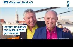 Gut vernetzt – crossmediales Heimspiel für die Münchner Bank eG