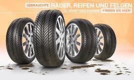 Marktplatz für gebrauchte Radsätze, Reifen und Felgen