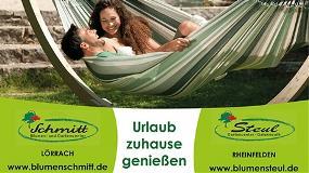 Wiederholungstat Plakat – Schmitt-Steul Gartencenter schwört auf Außenwerbung